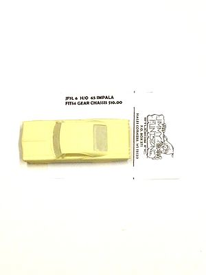 Jimmy Flintstone 1965 Chevy Impala Body for 4-Gear Chassis -- Resin Slot Car Body -- HO Scale -- #sl6