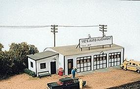 JL Vics Auto Alignment Kit Model Railroad Building HO Scale #161