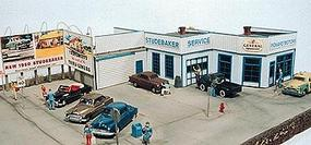 JL Pickard Motors Model Railroad Building HO Scale #171