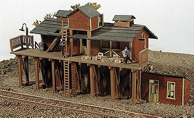 JL Brookside Ice House Model Railroad Building N Scale #190