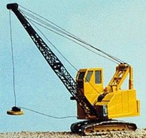 JL American High Cab Dragline Crane Metal Kit Model Railroad Vehicle N Scale #2071