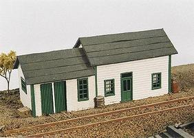 East Junction Section House Kit Model Railroad Building N Scale #260