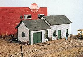 JL East Junction Section House Kit Model Railroad Building HO Scale #261