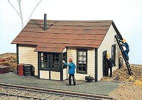 JL McDougall Telegraph Office Kit Model Railroad Building HO Scale #271
