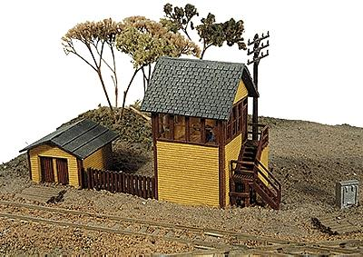 JL Innovative Design Bagwell Junction Tower Kit -- Model Railroad Building -- N Scale -- #290