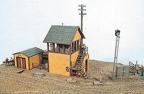 JL Bagwell Junction Tower Kit Model Railroad Building HO Scale #291