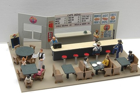 JL Cafe/Diner Interior Detail Set