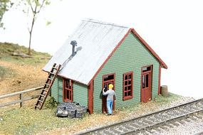 JL East Junction Yard Office Model Railroad Building N Scale #450