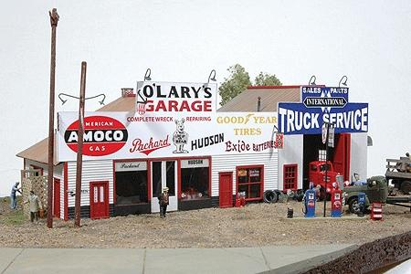 O Lary S Garage Model Railroad Building Ho Scale 481 By
