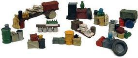 Stacks of Stuff Junk Piles Model Railroad Building Accessory HO Scale #500