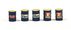 JL Custom Barrels Blue Feed & Seed Model Railroad Building Accessory HO Scale #512