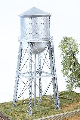 JL Red Rock Water Tower Model Railroad Building N Scale #520