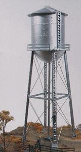 JL Red Rock Water Tower Model Railroad Building HO Scale  #521