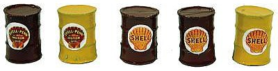 JL Custom Oil Barrel Shell Model Railroad Building Accessory HO Scale #564