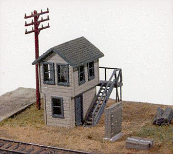 JL Michigan Avenue Tower Kit Model Railroad Building N Scale #570