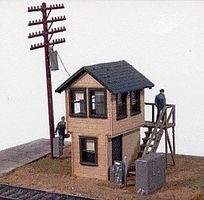 JL Michigan Avenue Tower Kit Model Railroad Building HO Scale #571