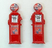 JL Deluxe Custom Gas Pumps Atlantic Model Railroad Building Accessory HO Scale #583
