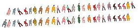 JMD Seated People (50 Pack) N Scale Model Railroad Figure #415