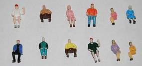 JMD Seated People 100/ - O-Scale (100)