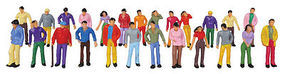 JMD Standing People 25/ - O-Scale (25)