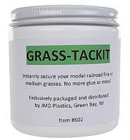 JMD Instant Grass Tack It 8oz - HO-Scale