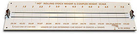 JMD Car Weight/Coup Ht Gauge - HO-Scale
