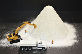 JMD Small Snow/Salt Pile