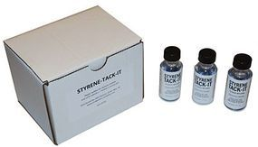 JMD Styrene Tack-It (1) Plastic Model Cement Bottle #701