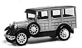 Jordan 1929 Model A Ford Station Wagon Plastic Model Kit HO Scale #217