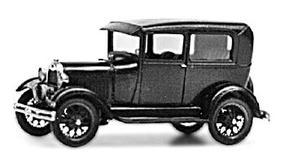 Jordan 1928 Model A Ford Tudor Sedan Plastic Model Kit HO Scale #236