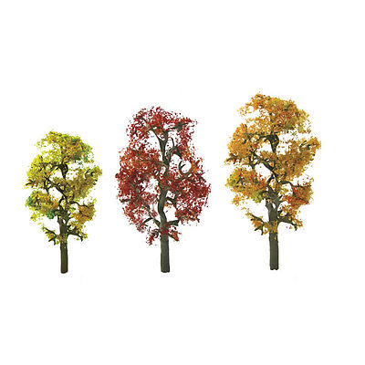 JTT Miniature Tree Autumn Maple Tree -- HO Scale Model Railroad Tree -- #92065