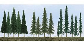 JTT Evergreen Tree Bulk Pack Model Railroad Tree #92118