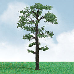 JTT Miniature Tree Pro-Elite Series Scots Pine Tree -- HO Scale Model Railroad Tree -- #92312
