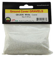 JTT Gravel White coarse 200g