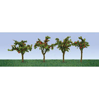 JTT Apple Tree Saplings HO Scale Model Railroad Tree #95517