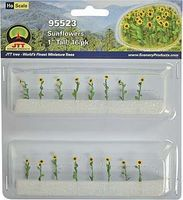 JTT Sunflowers HO Scale Model Railroad Scenery Plant #95523