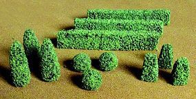 JTT Boxwood Plants HO Scale Model Railroad Scenery Plant #95584