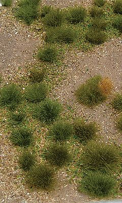 JTT Miniature Tree Grassland Mat (Earth Base w/Grassy Tufts) Wild -- Model Railroad Grass Mat -- #95602