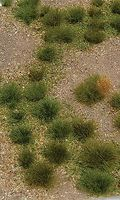 JTT Grassland Mat (Earth Base w/Grassy Tufts) Wild Model Railroad Grass Mat #95602