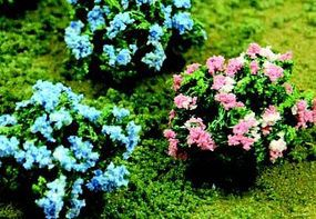 JTT Hydrangea (6) O Scale Model Railroad Scenery Flower #95610