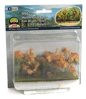 JTT Woods Edge Trees Fall 15/ N-Scale