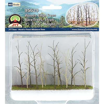 JTT Miniature Tree Woods Edge Trees Bare 14/