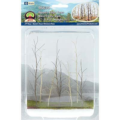 JTT Miniature Tree Woods Edge Trees Bare 8/ - O-Scale
