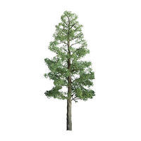 JTT Pine Tree O Scale Model Railroad Tree #96027