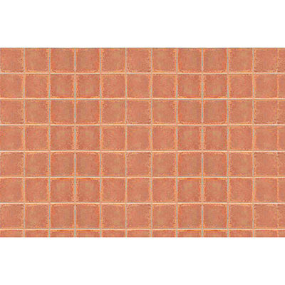 JTT Miniature Tree Patterned Plastic Square Tile (2) -- HO Scale Model Railroad Building Accessory -- #97416