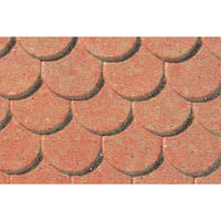 JTT Patterned Plastic Scalloped Edge Tile HO Scale Model Railroad Building Accessory #97437