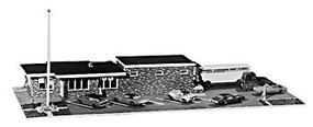 JV Hornbeck Station N Scale Model Railroad Building #1007