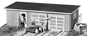 JV Section Tool House Kit pkg(2) HO Scale Model Railroad Building #2005