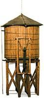 JV Mainline Wood Water Tower Kit HO Scale Model Railroad Building #2013