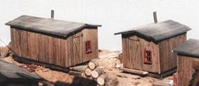 JV Bunkhouse Kit (2) O Scale Model Railroad Building #4011